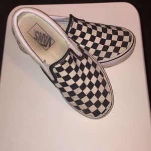 Retro style Checkered vans